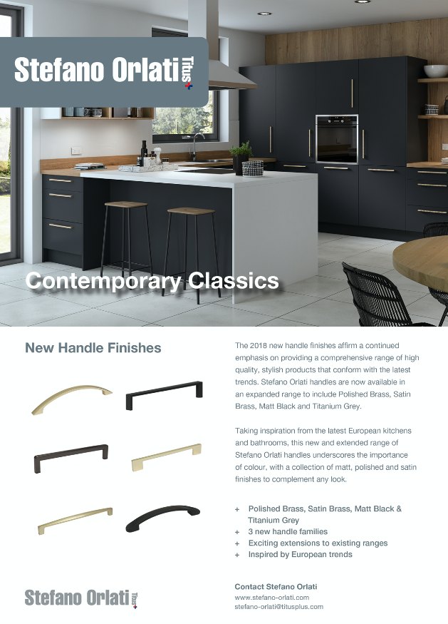 Joiners Magazine Advert - New Handle Finishes
