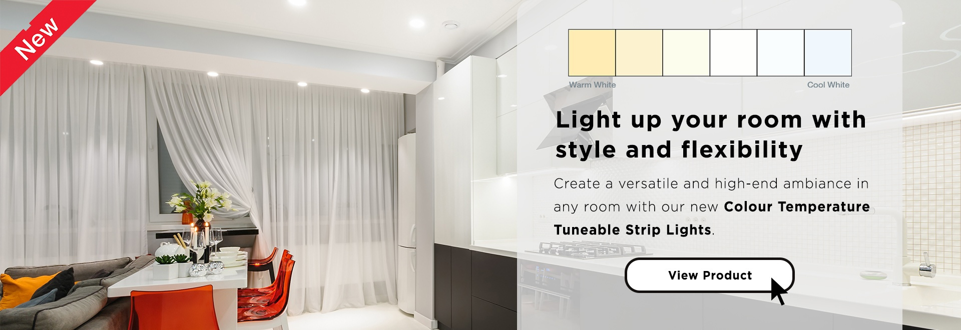 Tuneable Strip Light