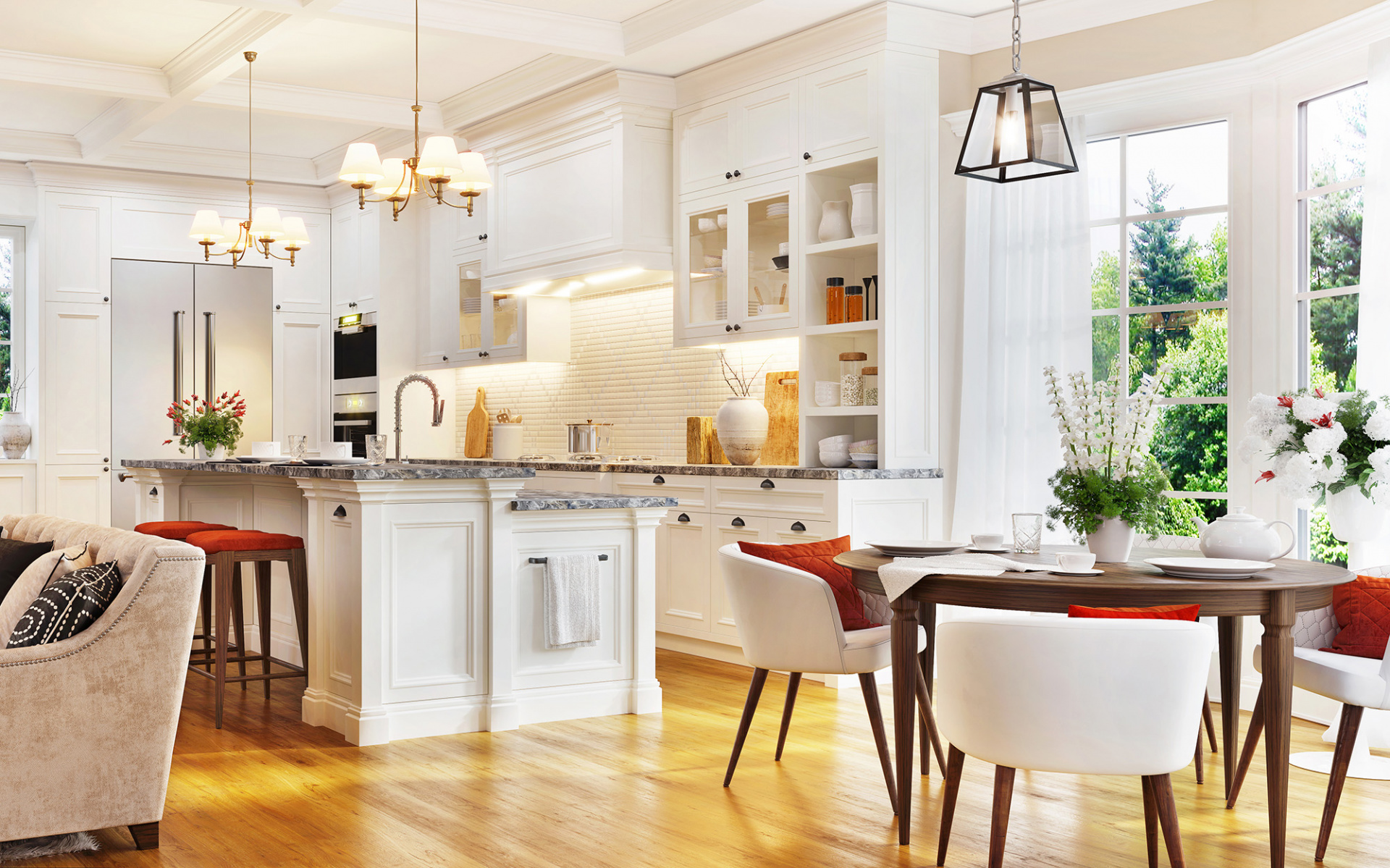 Create your dream country kitchen